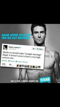 Adam Levine on Marriage Equality