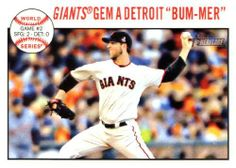 2013 Topps Heritage MLB Trading Card # 137 Madison Bumgarner San Francisco Giants by Topps. $3.95. 2013 Topps Heritage MLB Trading Card # 137 Madison Bumgarner San Francisco Giants
