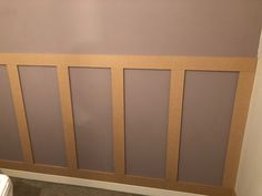 A How To - Wall panelling Stair Paneling, Bathroom Paneling, Wall Panelling, Wall Boards Panels, Wood Panel Walls, Wall Panel Design, Diy Wall Panel, Wall Pannels, Accent Wall Designs