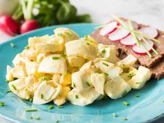 Schneller Eiersalat mit selbstgemachter Mayo