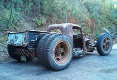 Ck this bad azzzz ratty dually!!! #rat rod