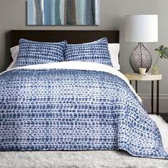 Lush Décor Pebble Creek Tie Dye Sherpa 3-Piece Quilt Set   ATG Stores