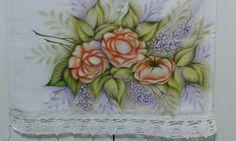 Na Cor da Arte: Pintura em camadas: rosas