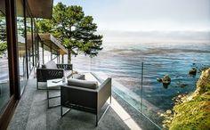 Design Hub - блог о дизайне интерьера и архитектуре: Необычный дом над обрывом с потрясающим видом на океан