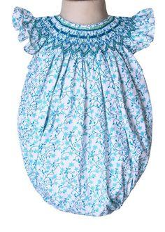 Baby Girls Angelina Shooting Stars Smocked Bubble – Carousel Wear