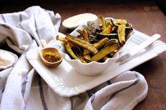 zucchini fries with za'atar