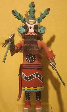 File:Yunya (prickly pear cactus) kachina, Arizona, Hopi people, Honolulu Museum of Art.
