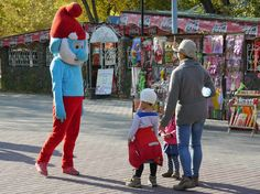 Meeting a Kazakh smurf by Mikael Strandberg on 500px