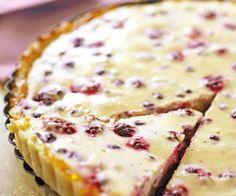 Tarte au fromage blanc et aux fruits rouges