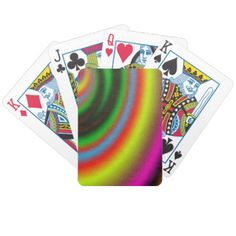 Abstract colorful pattern of line in many color. Some of the color is pink, yellow, red, green and blue. You can also Customized it to get a more personally looks. Pink Yellow, Red Green, Blue, Custom Deck Of Cards, Color Lines, Color Patterns, Create Your Own, Playing Cards, Colorful