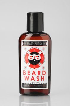 beard wash by Beard Buddy | save your beard from being weird