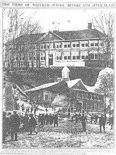 On May 18, 1927, 45 people, mostly children, were killed and 58 were injured when disgruntled and demented school board member Andrew Kehoe dynamited the new school building in Bath, Michigan out of revenge over his foreclosed farm due in part to the taxes required to pay for the new school.