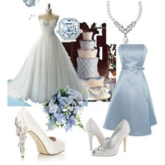 """Cinderella_wedding"" by utah soccer girl6 on Polyvore - [Love this blog - click on to it and she tells you where to go to find each item! <3, <3, <3 It!]"