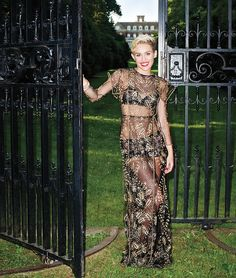 Miley Cyrus Wears Couture in Harper's Bazaar September Issue. Miley in Valentino Haute Couture, Van Cleef & Arpels, and Chopard.