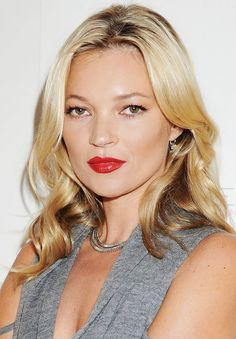 11. …and a killer red lip.