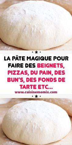 The magic dough for making donuts pizzas bread buns pie crusts etc Pizza Recipes, Cooking Recipes, Healthy Recipes, Making Donuts, Bread Bun, Pumpkin Cookies, Food And Drink, Nutrition, Desserts