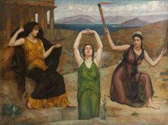 Demeter, Kore and Hekate, by Eduardo Chicharro Aguera