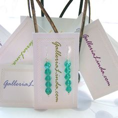 How to make earring cards for your earring designs.