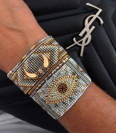 Pin on Loom Bracelets Loom Bracelet Patterns, Bead Loom Bracelets, Bead Loom Patterns, Woven Bracelets, Jewelry Patterns, Handmade Bracelets, Handmade Jewelry, Diamond Bracelets, Bangles