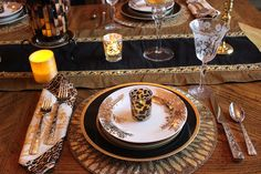 Designs by Pinky: Winter Dining Room Table, 2018