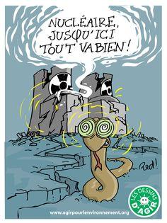 Le mythe du nucléaire « sûr » part en fumée… comme à Fukushima !.. http://www.agirpourlenvironnement.org/blog/le-mythe-nucleaire-et-la-tragedie-radioactive-3944