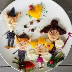 Ben and Holly #benandholly #party #partyfood #foodart #funfood #funnyfood #donkeyandthecarrot
