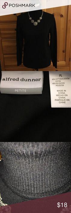 Alfred Dunner M Rayon Blend Turtleneck Alfred Dunner M Rayon Blend Turtleneck. Perfect alone or under your fav jacket, sweater or blazer Alfred Dunner Tops