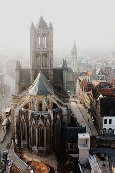 Saint Nicholas' Church in Ghent, Belgium / photo by Babak Haghighi.