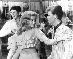 "Ann-Margret (Kim MacAfee) & Bobby Rydell (Hugo Peabody) in the movie ""Bye Bye Birdie"" (1963) - links to the story behind the iconic title song"