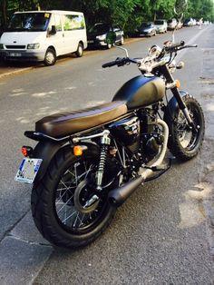 Mash Forum :: Mash moi ça 2.0 Cafe Racer Honda, Cafe Bike, Cafe Racer Bikes, Cafe Racers, Concept Motorcycles, Custom Motorcycles, Custom Bikes, Custom Bmw, Custom Cafe Racer