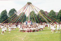 Bournville Village Festival, Maypole 1969 | Flickr - Photo Sharing!