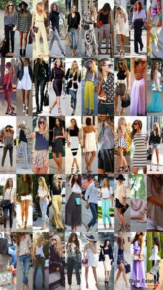 50 Stylish New Looks For Summer 2014 ~ Be sure to follow Fashion Estate      on Pinterest.