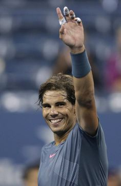 Nadal 2nd Round US OPen 2013
