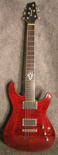 Ibanez SZ520 w EMG 81 85 Pickups Mahogany Set Neck Quilted Maple Trans Red Mik