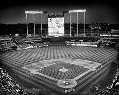 Kansas City Royals Baseball Stadium in Kansas by visualjourneys, $29.00
