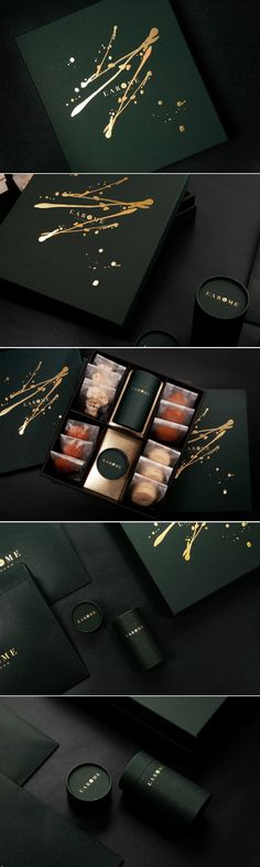 Packaging Design L'Arome package design by Weichi PAI and Googood Designs Graphisches Design, Design Logo, Graphic Design Branding, Advertising Design, Identity Design, Typography Design, Creative Design, Print Design, Design Agency