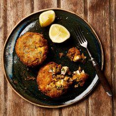 Yotam Ottolenghi's Lentil recipes - sweet potato and puy lentil croquettes. Yotam Ottolenghi, Ottolenghi Recipes, Vegetarian Cooking, Vegetarian Recipes, Cooking Recipes, Healthy Recipes, Budget Cooking, Puy Lentil Recipes, Veggie Recipes