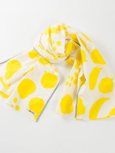 Bobo Choses Foulard Big fruits Yellow | www.littlesahou.com