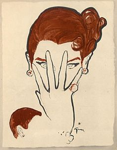 René Gruau (1909-2004), 1950, Guillaume Coiffure, Paris. #Hairstyle Fashion Sketches, Fashion Illustrations, Rene Gruau, Fifties Fashion, Fashion Art, Fashion Design, Graphic Art, Art Drawings, Art Photography