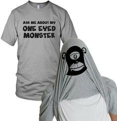 Crazy Dog T-Shirts One Eyed Monster Flip Up Tee on shopstyle.com