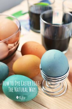 Dye your Easter Eggs with all-natural, organic ingredients this Sunday! Here's how: