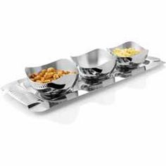 Buy Stainless Steel Snack Server online from Spices of India - The UK's leading Indian Grocer. Free delivery on Stainless Steel Snack Server (conditions apply). Kitchen Utensils, Deco, Clean Eating, Conditioner, Spices, Stainless Steel, Tableware, House, Kitchen