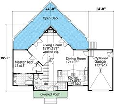 1000 images about drawings floor plans or elevations on Vacation house plans sloped lot