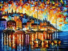 cool oil paintings art | Stunning Oil Paintings With Palette Knife | Modern Art, Design Ideas