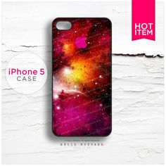 iPhone 5 case Nebula and Logo T90 by HelloNutcase on Etsy, $22.00