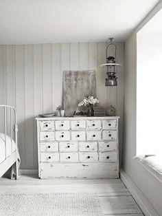 white chest of drawers | furniture + home decor