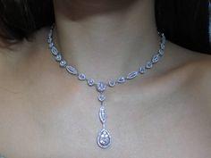 Graceful Wedding Diamond Necklace