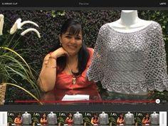 TEJE CAPITA GRIS - GANCHILLO FÁCIL Y RÁPIDO - Tejiendo con LAURA CEPEDA - YouTube