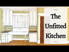 The unfitted kitchen is one of my favorite aspects of Victorian kitchen design. I love the free standing, unfitted kitchen decor. Having a Victorian kitchen . Old Kitchen, Rustic Kitchen, Kitchen Decor, Kitchen Design, Kitchen Ideas, Victorian Kitchen, Victorian Farmhouse, Antique Cabinets, Custom Cabinets