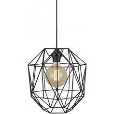 Prezentujemy naszą kolejną dawkę nowości - Nowoczesna lampa wisząca Ace z klatka. http://blowupdesign.pl/pl/35-lampy-klatki-metalowe-loft-design# #lampyklatki #lampywiszące #lampymetalowe #cagelamps #modernlighting